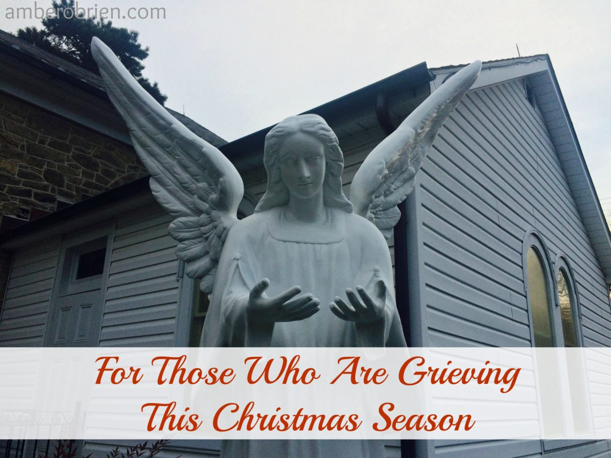 For My Sisters Who Are Grieving this Christmas/ How to help Our Grieving Sisters